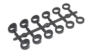 Angle Washer Set, Black Abs, 6 Different Angles