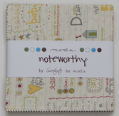 Noteworthy charm pack