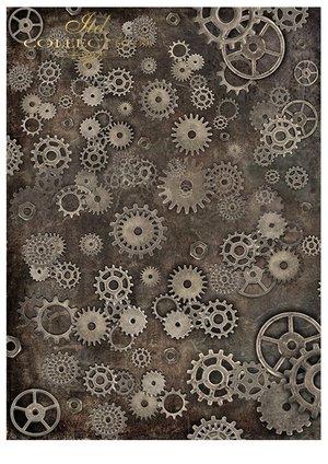 Scrapbooking papers SCRAP-043 ''steampunk''