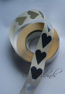 Små silverhjärtan