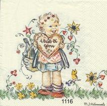 Söt liten flicka  10116