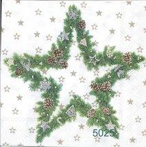 Julstjärna igrönt med pynt   kaf5025