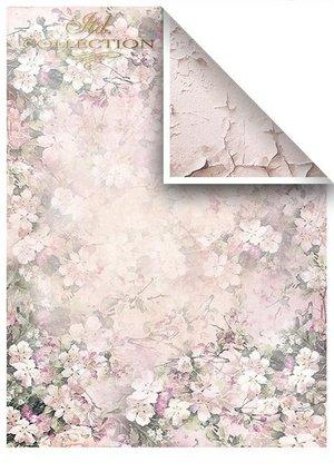 Scrapbooking papers SCRAP-045 ''Rosy summertime''