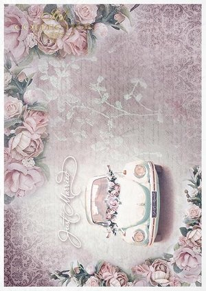 Rice paper Creative Set RS007 In love