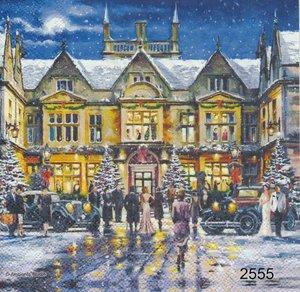 Julaftons fest i staden  sej2555