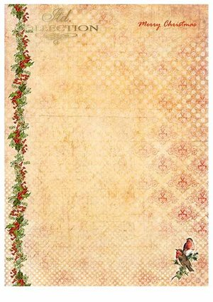 Scrapbooking papers SCRAP-021 ''Merry Christmas''