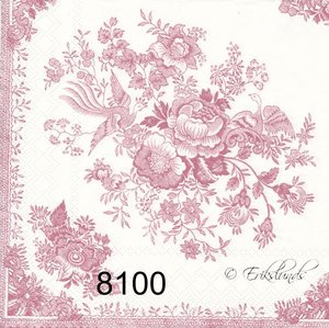 Rosa motiv  8100