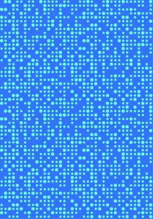 Krokbräda Blå dot 4