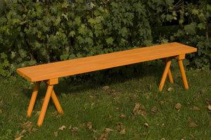 Furubänk orange