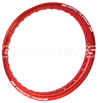 19x2,15 Röd SM Pro Platinum Fälg 36 Hål