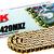 RK GB420 MXZ gold 132 Links
