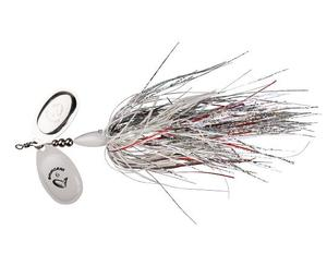SavageGear DP Spinner White Silver Holo Flame