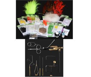 A. Jensen Flytying Kit Advanced