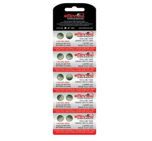 Fat Bobba Batterier 10-pack