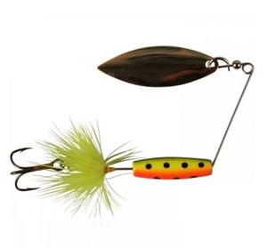 Attract Spinner Tail Orange Black Dots