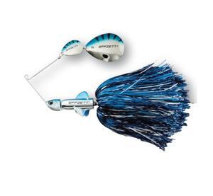 D-A-M Effzett Pike Rattlin´ Spinnerbait Silver Blue
