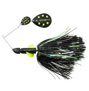 D-A-M Effzett Pike Rattlin´ Spinnerbait Black Demon 20cm/56g