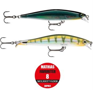 "Rapala ""Mathias Holgerssons Favoriter 8"" - Molnigt Väder / 2-pack"