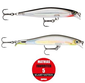 "Rapala ""Mathias Holgerssons Favoriter 5"" - Klart Vatten / 2-pack"