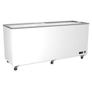 Frysbox, 490 Liter med glidande glaslock