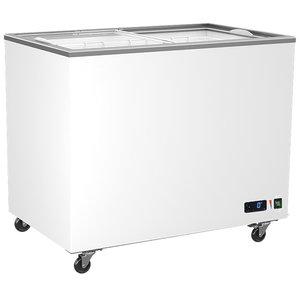 Frysbox, 258 Liter med glidande glaslock