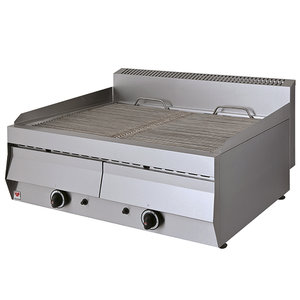 Vattengrill, gas - 2 zoner