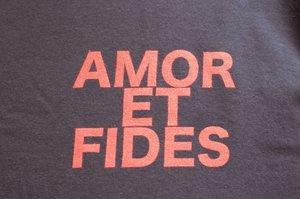 Långärmad t-shirt, Amor et fides