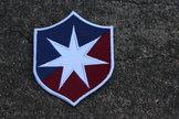 Tygmärke broderat ÖIS gamla emblem