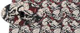 Kydex Cracked Skull - Desert tan 2,0 mm
