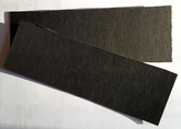 Vulkanfiber - remsa svart 0,8 mm