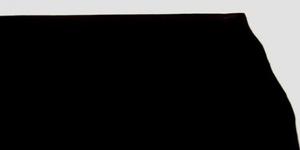 Vegetabilgarvat läder svart 2,6 - 2,8 mm