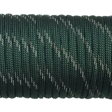 Paracord 550 - Reflective Dark Emerald Green