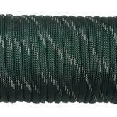 Paracord 550 - Reflective Dark Emerald Green