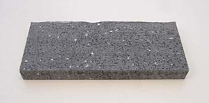 Corian Svart/grå 12 mm.