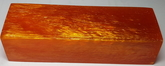 Akryl block Golden Amber