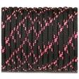 Paracord 550 - Black Pink X
