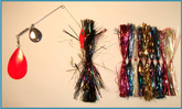 Switch Blade Spinnerbait SB-3 Fire and Smoke