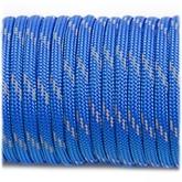 Paracord 550 - Reflective Blue