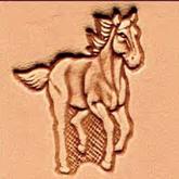 3D Puns - Häst 8311
