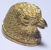 Fågelhuvud - mässing