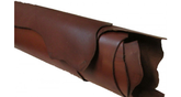 Vegetabilgarvat läder brun 2,0 -2,5 mm - hel framdel 15,3 kv.fot