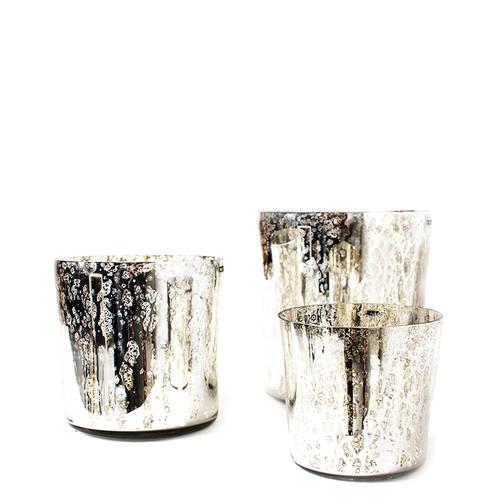 Crystal Cylinder Silver S/M/L