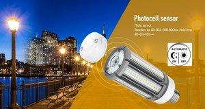 Led-lampa 36W med rörelsedetektor, Samsung diod