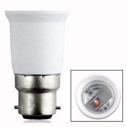 Övergång E27 till B-22 lamphållare