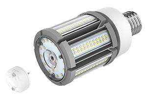 LED-lampa 36W med skymningsrelä, Samsung diod