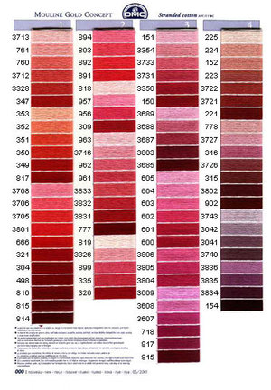 Mouliné färg 150-318