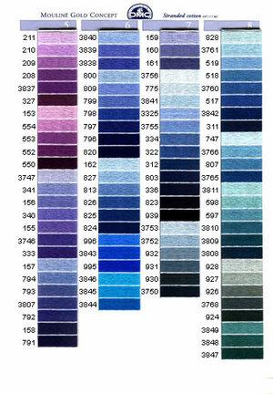 Grovlek 5 färg nr 735-909