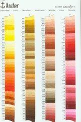 Anchor mouliné färg 1007-1060