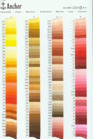 Anchor mouliné färg 1-75