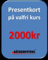 Presentkort 2000kr